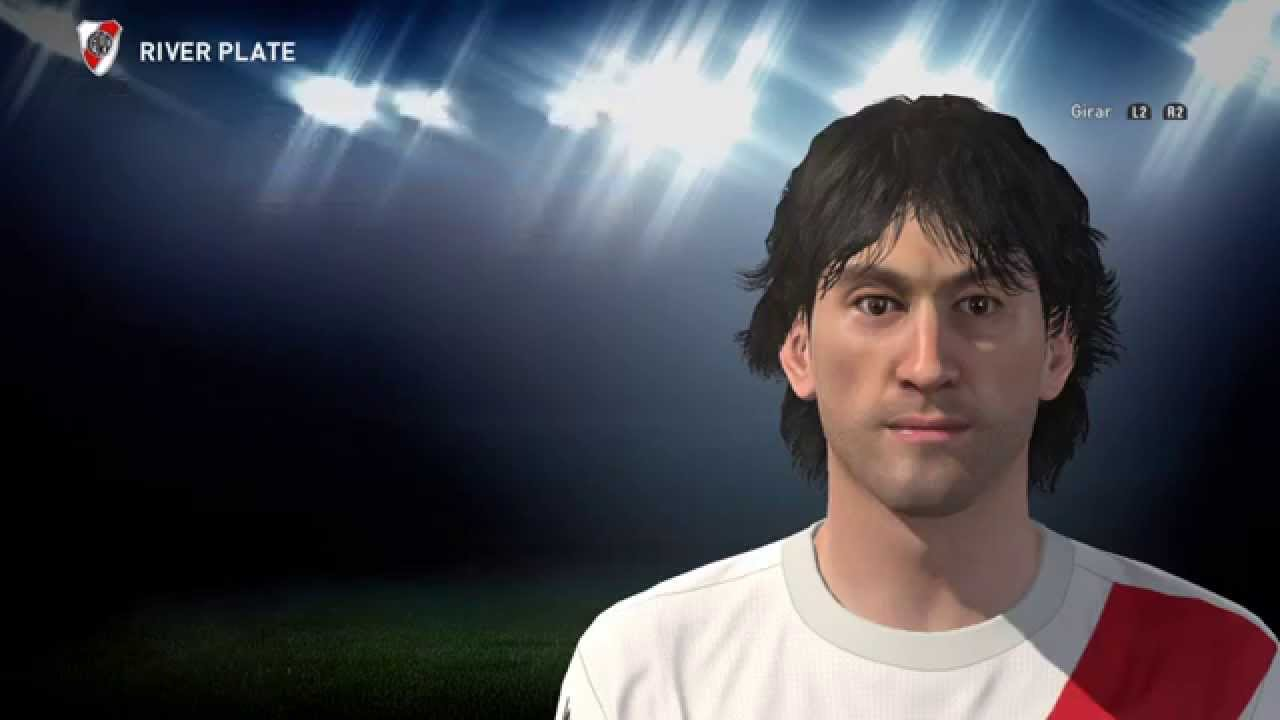 Enzo Francescoli PES 2016 Face Edit