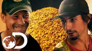 Parker's Impressive 131 Oz Clean Up   NEW Gold Rush Season 9