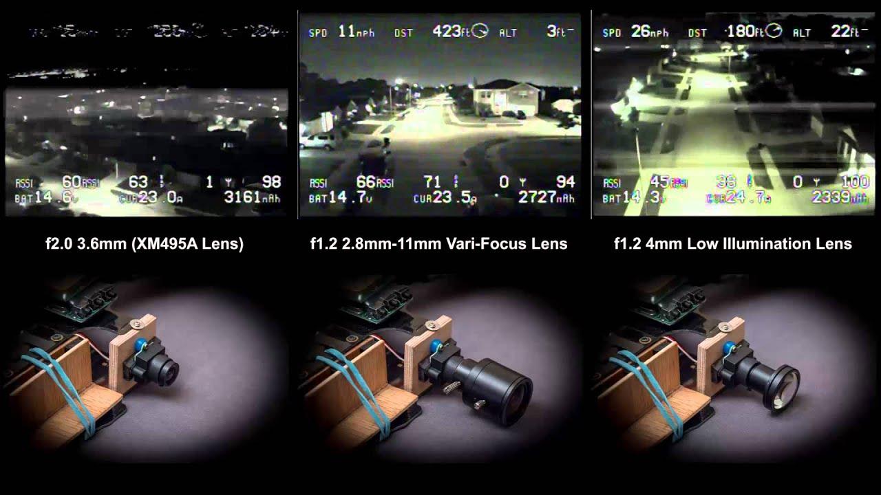 Night Fpv Low Light Lens Comparison Xm495a Camera 0 008