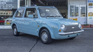 1989 Nissan Pao - Walk-around and (sort of) test drive