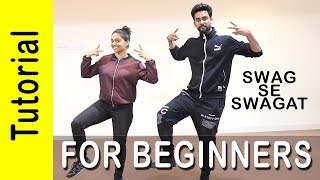 Swag Se Swagat Dance Tutorial for Beginners