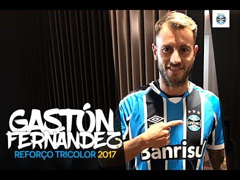 Gastón Fernández - Lances e gols - Bem vindo ao Grêmio