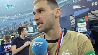 Бранислав Иванович: «Лучше всего — отмечать победу вместе с болельщиками»