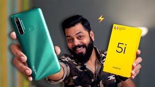 Realme 5i Unboxing & First Impressions ⚡⚡⚡ Cheapest Quad Camera Phone!?
