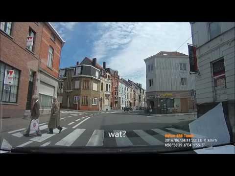 Een jaartje in België met de dashcam