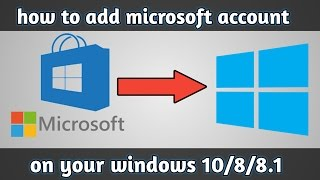 how to add microsoft account in windows 10/8/8.1 | Urdu Tutorials |