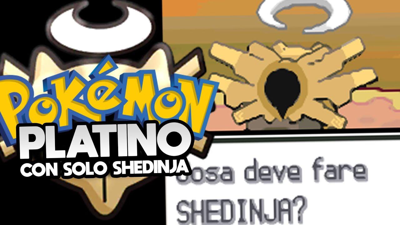 POKÉMON PLATINO con solo SHEDINJA! - Regole