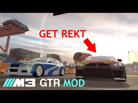need for speed pro street bmw m3 gtr mod destroying ryo youtube. Black Bedroom Furniture Sets. Home Design Ideas