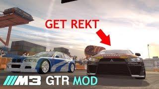 Need for Speed Pro Street | BMW M3 GTR Mod | Destroying Ryo