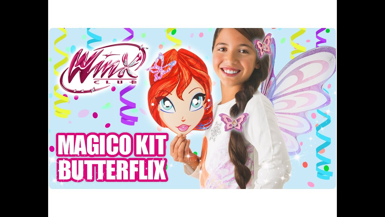 6c320f9bea24 Carnevale Winx – Magico Kit Butterflix - YouTube