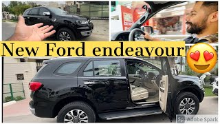 New ford endeavour 😍 loving it | genuinely ghaint laggi
