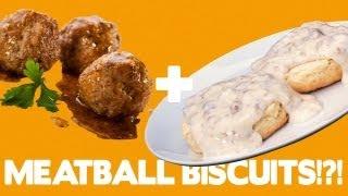 Sausage Biscuit Balls Recipe!!! - Food Mashups