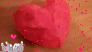 Papercraft Heart/Паперкрафт Сердце