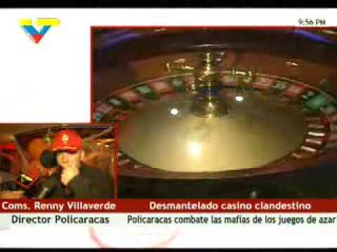 Casino ilegal / clandestino en Hotel Metropol de Caracas