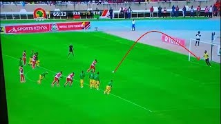 HARAMBEE STARS VS ETHIOPIA HIGHLIGHTS FT 3-0 VICTOR WANYAMA'S FANTASTIC PENALTY KICK