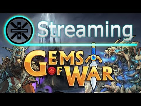 🔥 Gems Of War Stream: Grinding To Level 500 Silver Necropolis Delve And Pure Faction Completion 🔥