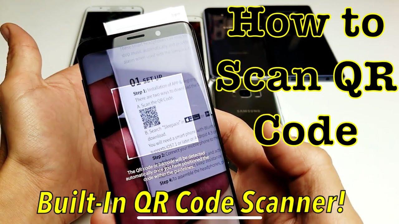qr code lesen handy samsung