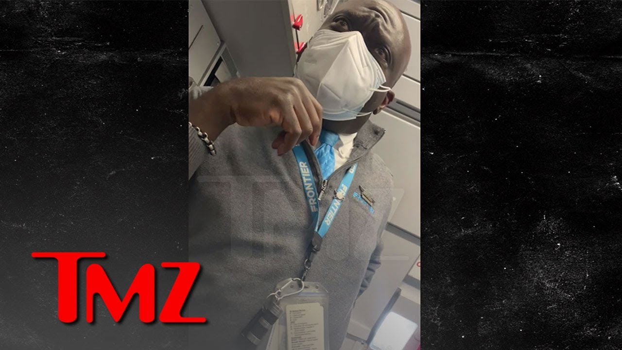 Frontier Airlines Passenger Complains About Sick Passenger and Told He Should Drive | TMZ