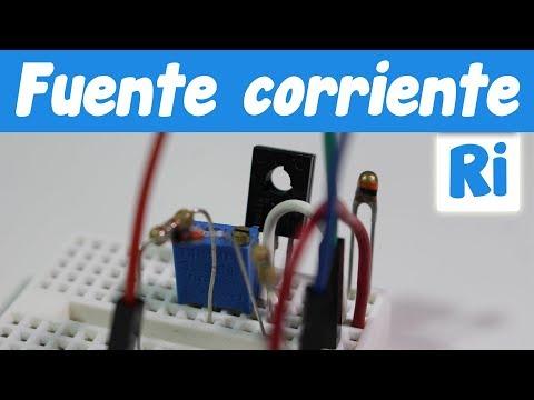 Usar un termistor NTC con una fuente de corriente