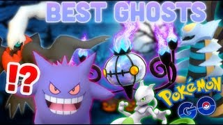 Best Ghost types in Pokemon GO   Chandelure VS Gengar DPS+TDO test   Darkrai best Shadow Ball user?