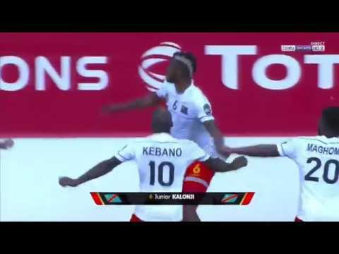CAN 2017 Côte d'Ivoire vs RD Congo  2-2 AFCON GABON 2017