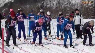 長井市小学校スキー大会 ・距離競技(H28.2.11)