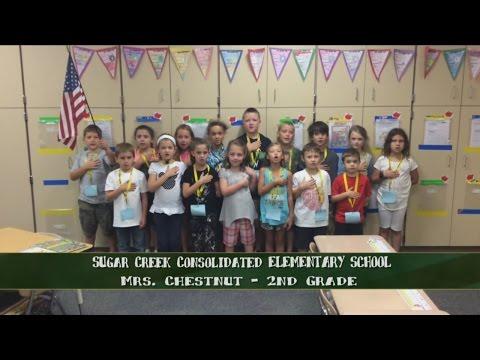 Sugar Creek Consolidated Elementary School - Mrs. Chestnut - 2nd Grade