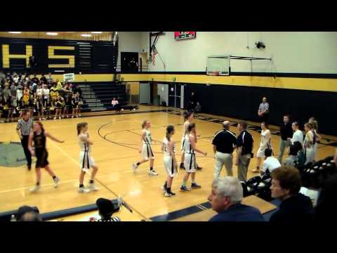 Roosevelt HS v Albany HS Varsity - Girls Basketball Post- Season Play (3-4-14)