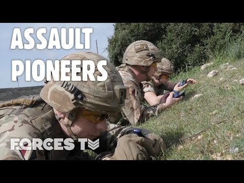 What Do Assault Pioneers Do? | Forces TV