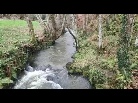 El temporal trae viento y ligeras crecidas en los ríos en A Mariña