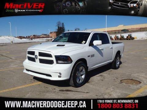 White Dodge Trucks