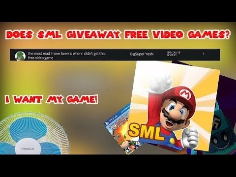 Does Sml Giveaway Free Video Games Youtube
