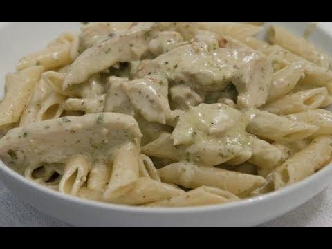 Easy Alfredo Chicken Penne / Alfredo Chicken Pasta / Fast & Easy Recipe In Malayalam