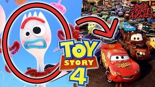 Toy Story 4 -  How Does a Toy Come to Life? (Forky Explained + Our Cars & Pixar Theory)