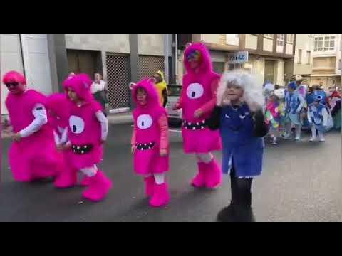 Desfile de Carnaval en A Estrada