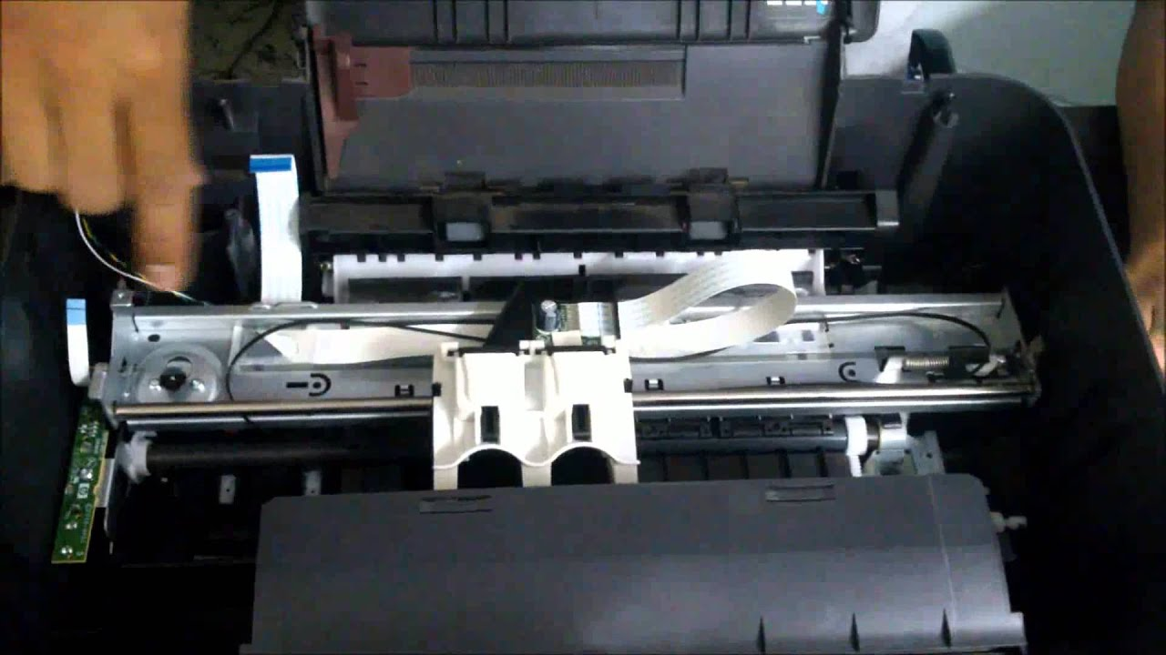 Tutorial Mantenimiento Impresora Hp Deskjet 2050 Youtube
