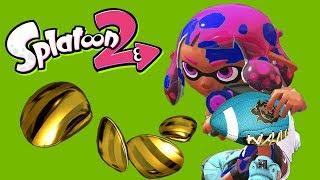 Clam Blitz Dodgeball! (Splatoon 2 Funny Moments)