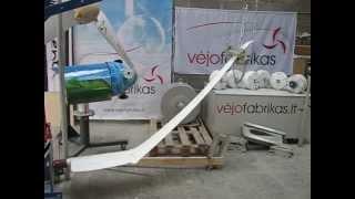 Wind turbine blade bending test. Vėjo jėgainės mentės lenkimo testas 5 dalis - Vėjo fabrikas