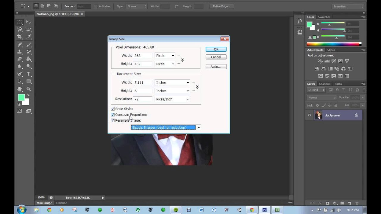 How To Reduce Image Size without Losing Image Quality in Photoshop ...