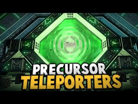 Subnautica - PRECURSOR TELEPORTERS & GUN UPDATE - Subnautica Early Access Gameplay