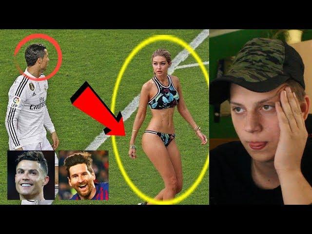 NEUVĚŘITELNÉ OKAMŽIKY VE SPORTU ! Ronaldo,Neymar,Messi