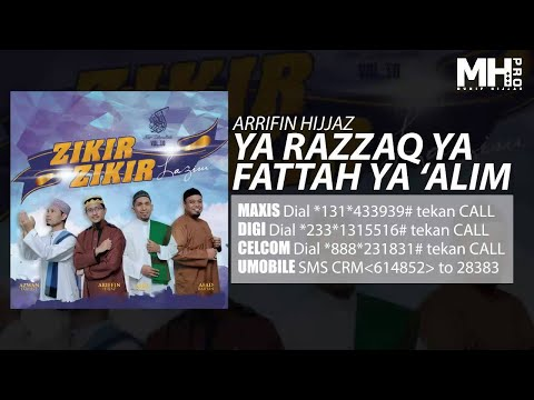 Arrifin Hijjaz Ya Razzaq Ya Fattah Ya Alim Official Music Audio