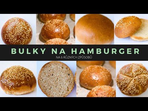 Bulky na hamburger na 6 různých způsobů