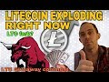 Litecoin LTC Exploding Right Now! - Will Litecoin hit $500 - $1000 In 2018? Litecoin News
