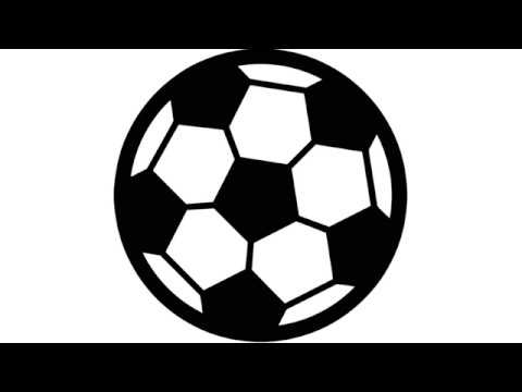 how to draw simple soccer ball/ football step by step ...