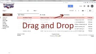 Gmail Tabs and Categories