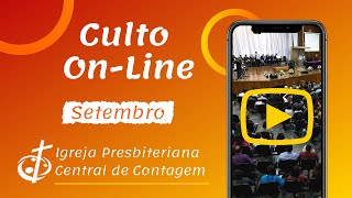 Culto On-Line IPB Central de Contagem | 12/09/2021