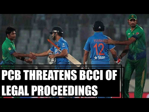PCB threatens BCCI of legal proceedings, blames for 200 million dollar loss | Oneindia News