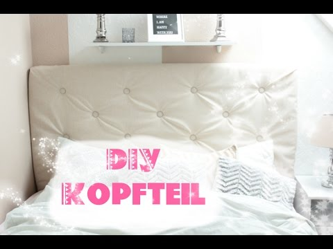 diy kingsize bett kopfteil einfach selber machen youtube. Black Bedroom Furniture Sets. Home Design Ideas