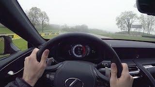 2019 Lexus LC500 - Tedward POV Track Drive